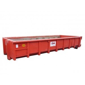 Afzetcontainer laag 12 m3