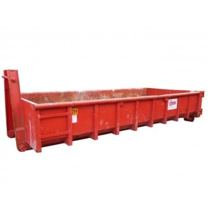 Afzetcontainer laag 15 m3