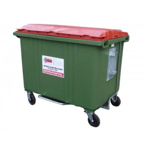 Rolcontainer 1700 liter